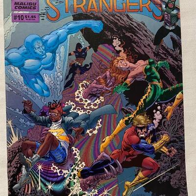 Malibu Comics, The Strangers, #10