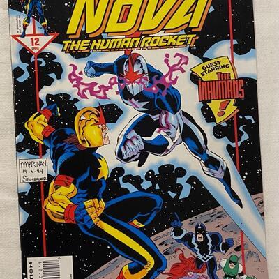 Marvel, Nova, #12