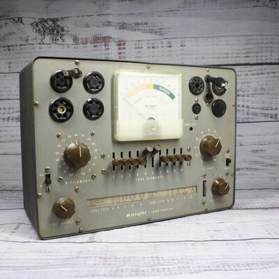 Vintage Knight Radio Vacuum Tube Tester