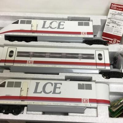 LGB G scale high speed LCE-3 piece set