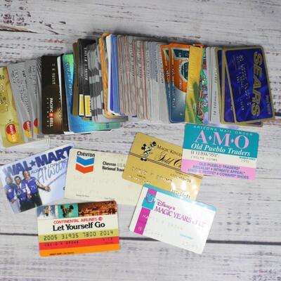 Vintage Retro Lot of Credit Debit Store Bank Cards