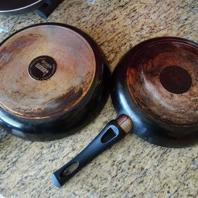 LOT 786. COLLECTION OF PANS