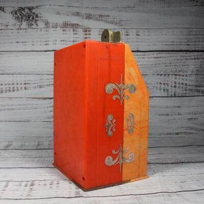 Vintage Plastic Slot Machine Dispenser Toy