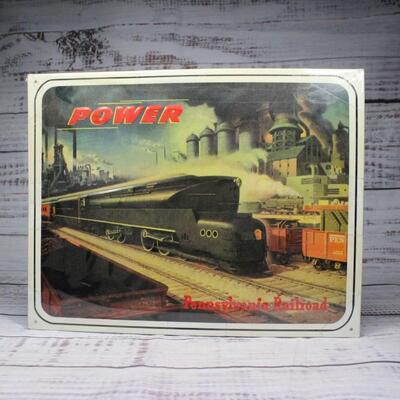 Pennsylvania Railroad Tin Sign