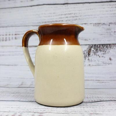 Vintage New Trends Pottery Pitcher with Measurements