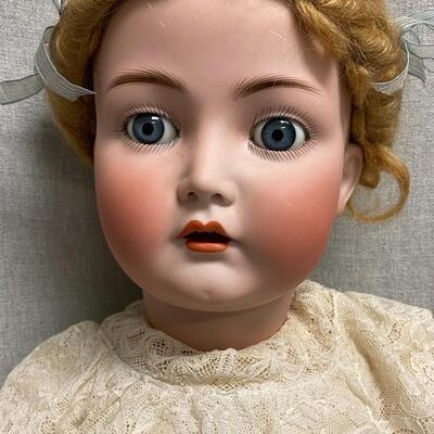 Vintage K⭐R Simon & Halbig 117n Bisque Composite Doll