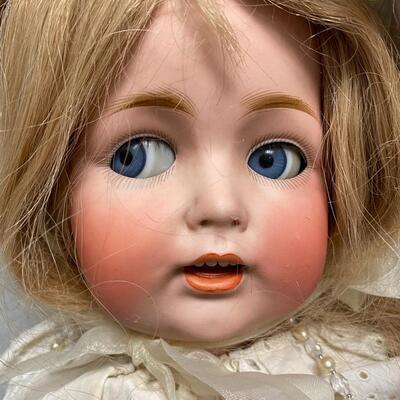 Antique Flirty Eye JDK 260 Bisque & Composite Baby Doll