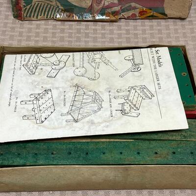 Vintage Arkitoy Wood Construction Set