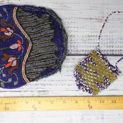 Vintage Seed Bead Crafting and Bag Lot