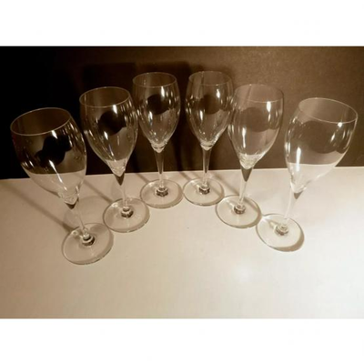 14 Baccarat St Remy claret wine glasses