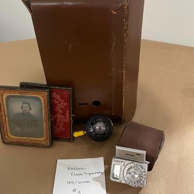 Kodak Flash Supermatic with accessories