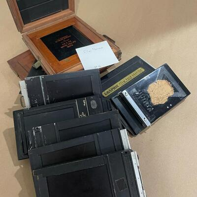 Assorted Film Holders and Film Backs