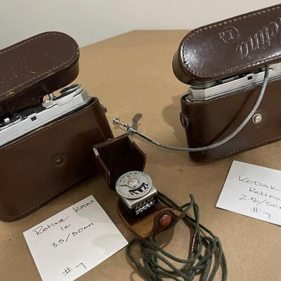 Kodak Retina Series 1a with accessories