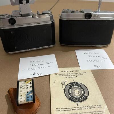 Kodak Retina Series 1b & IIa