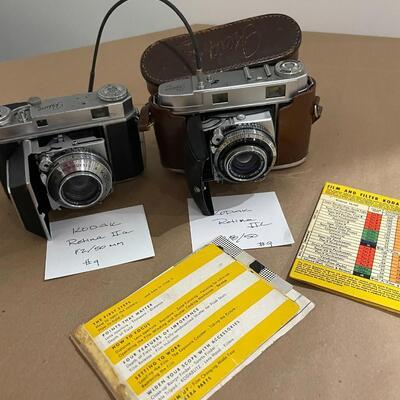Kodak Retina Series IIa & IIc with accessories