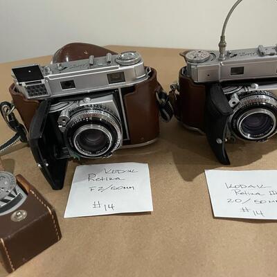 Kodak Retina Series Retina & IIIc with accessories