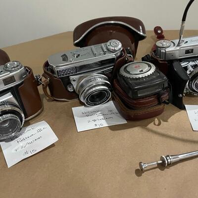 Kodak Retina Series III & IIIc with accessories