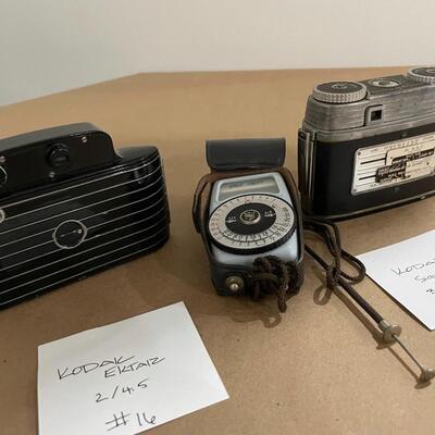 Kodak Bantam - Ektar & Kodak Signet 35 with Accessories