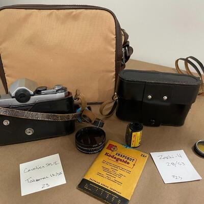 Cavalier STL-I & Zorki with Accessories