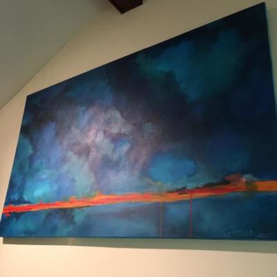 Large Original Painting Local Artist