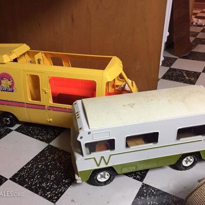 Vintage Barbie Camper and Tonka Winnebago