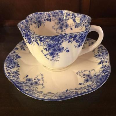 Shelley Dainty Blue cup & saucer