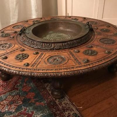 Antique low antique table