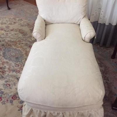 Upholstered Chaise - like new!
