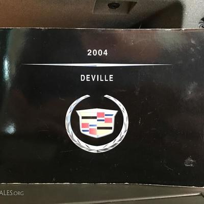Manual for 2004 Cadillac DeVille Base