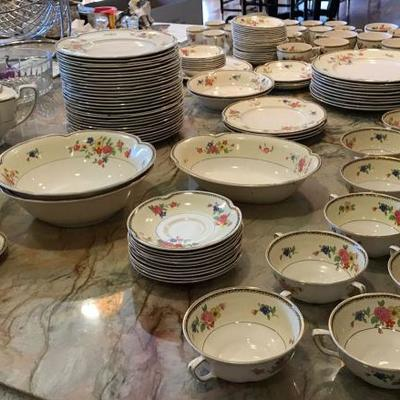 Antique Pareek Johnson Brothers England China 123 Pieces