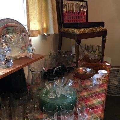Glassware and Dishes