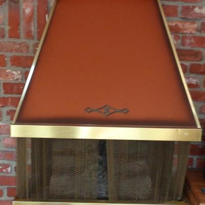 Vintage electric fire place heater