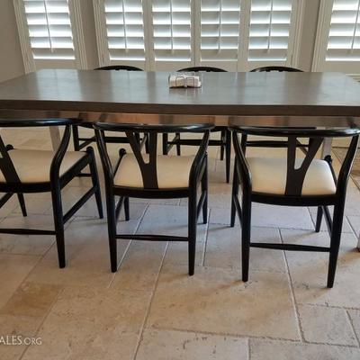 Stunning Custom Kitchen Table