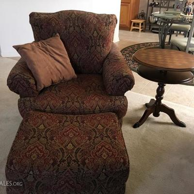 Comfy Chair and ottoman  - there are two!