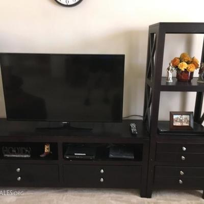 TV Cabinet and shelves