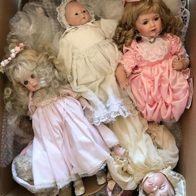 Doll collection and accessories