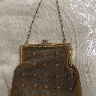 1920s Pettitpoint purse
