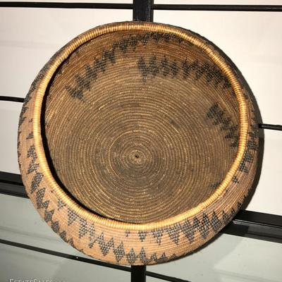 This Superb Antique Basket Is from The Native American Maidu Tribe of Northern California,