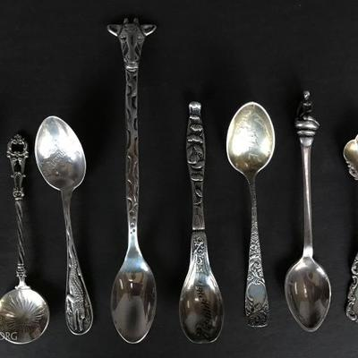 Sterling Baby spoons