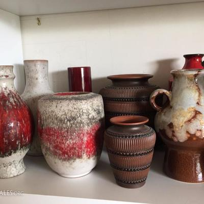 Nice Collection of Dutch (mostly Mobach) Pottery..