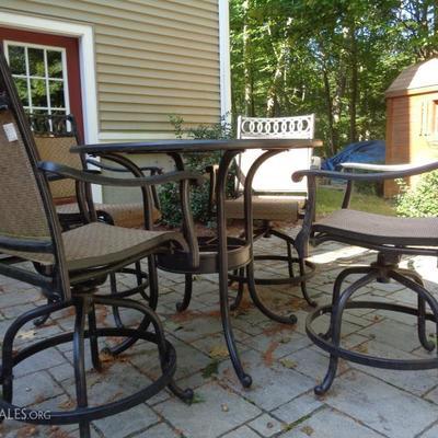 2nd Bar height patio set