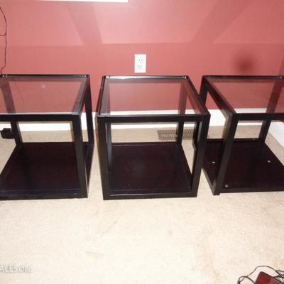 Crate and Barrel stackable blocks