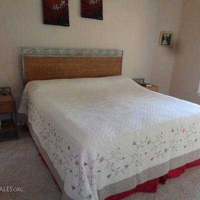 Pier 1 king size bedroom