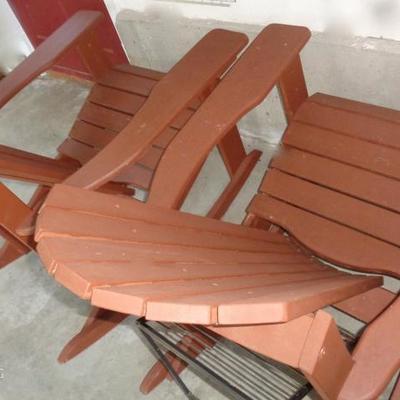 Rocking Adarondak chairs