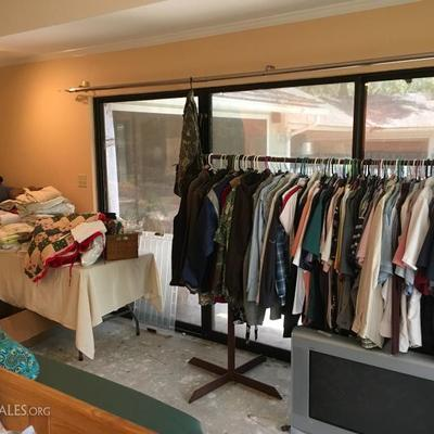 Men's clothing and shoes