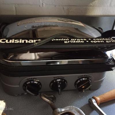 Cusinart appliances.