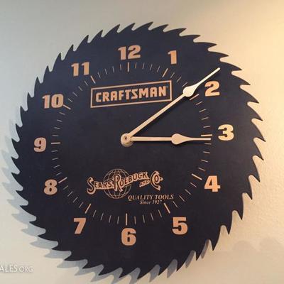 Craftsman Clock.