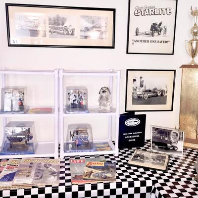 FRAMED DRAG RACING PHOTOS