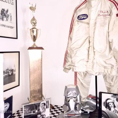 DRIVERS FIRE SUIT & ACCESSORIES