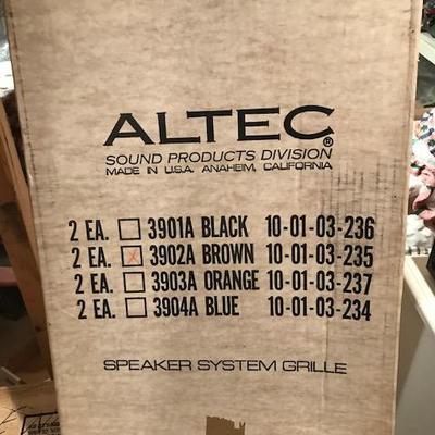 Altec Speaker System Grille.